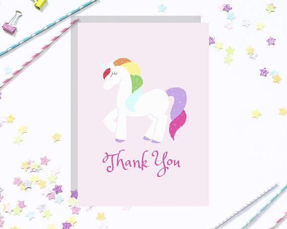 rainbow unicorn customizable party invitation package - Customized Party Invitations