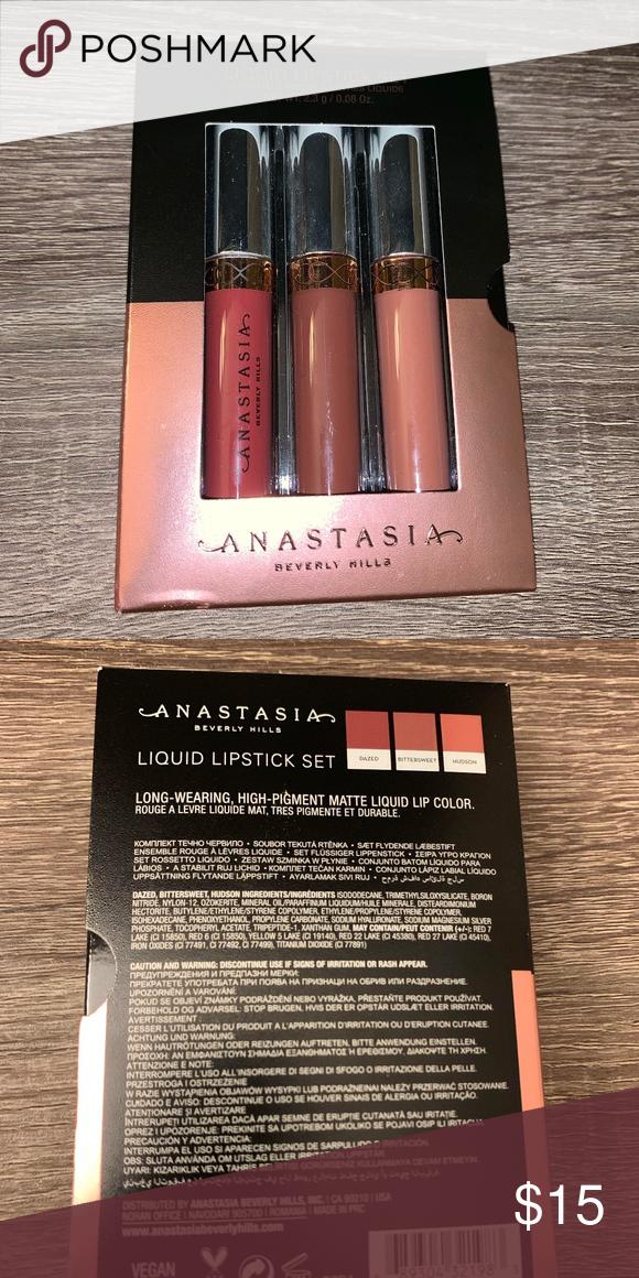 Anastasia Beverly Hills | Liquid Lipsticks | Bittersweet