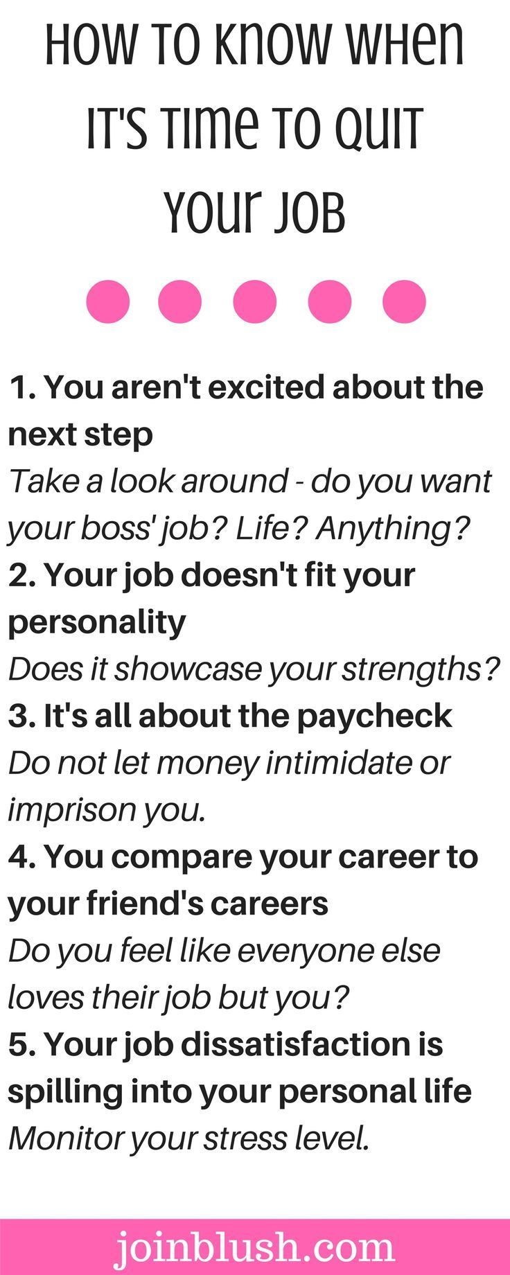 Charming ... Know If Itu0027s Time To Quit Your Job. If Youu0027re Having Serious Thoughts  About Quitting Your Job And Finding A New Career, This Is The Checklist For  You.