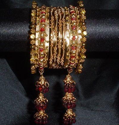 اكسسوارات هنديه 2012 مجوهرات هنديه 2012 تصميمات اكسسوارات 2012 اكسسوارات جديده 2012 Jewelry Gold Bracelet Jewels