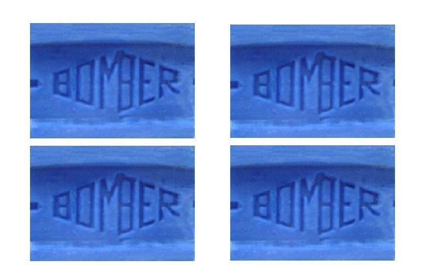 4 Bar Blue Bomber Best Cake Soap Washing Laundry White Clothes