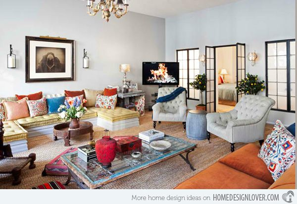 20 Incredibly Eclectic Living Room Designs Eclectic Living Room
