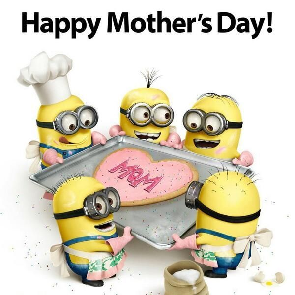 Happy Mothers Day Minions Minions Funny Despicable Minions Minion Pictures