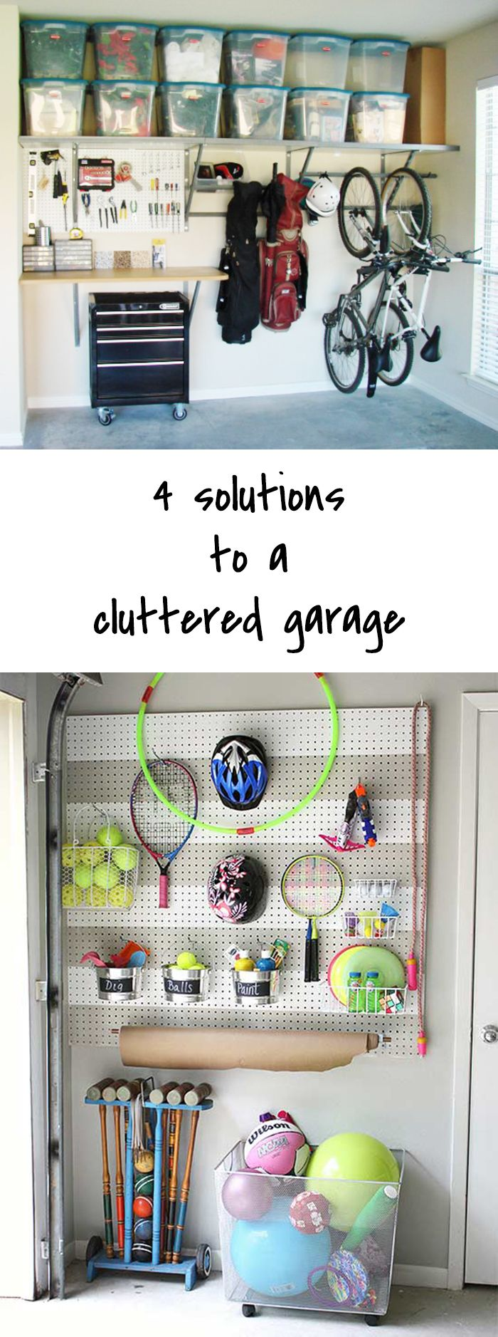 The top 4 Solutions to a cluttered garage - Ohoh deco