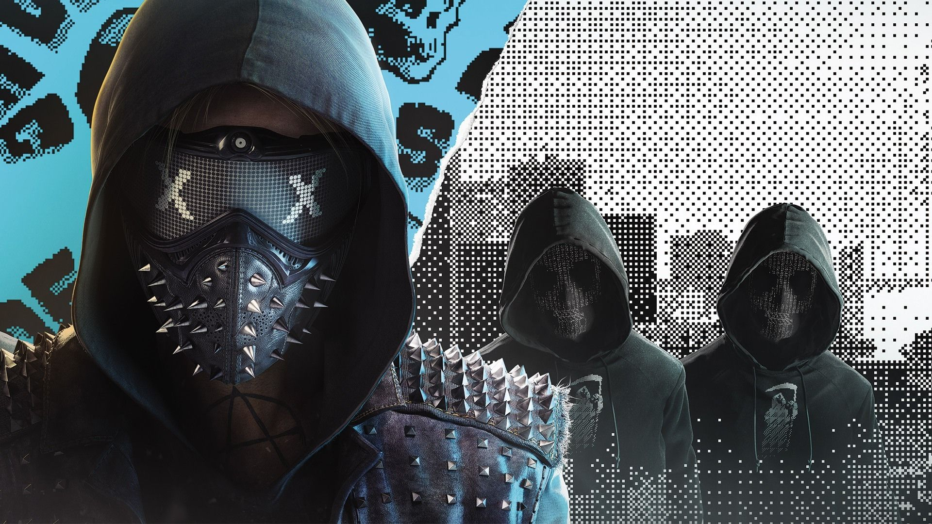 Vídeo Game Watch Dogs 2 Wrench (Watch Dogs) Papel De