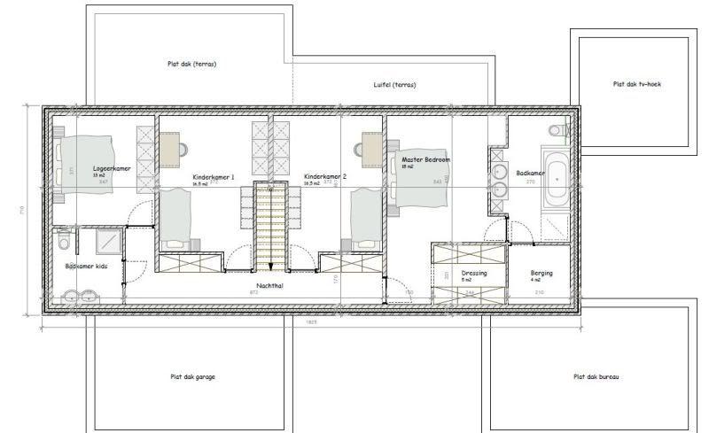 Na 1 maand nog steeds geen indeling ons huis moet op 31 december 2011 worden opgeleverd - Plan indoor moderne woning ...