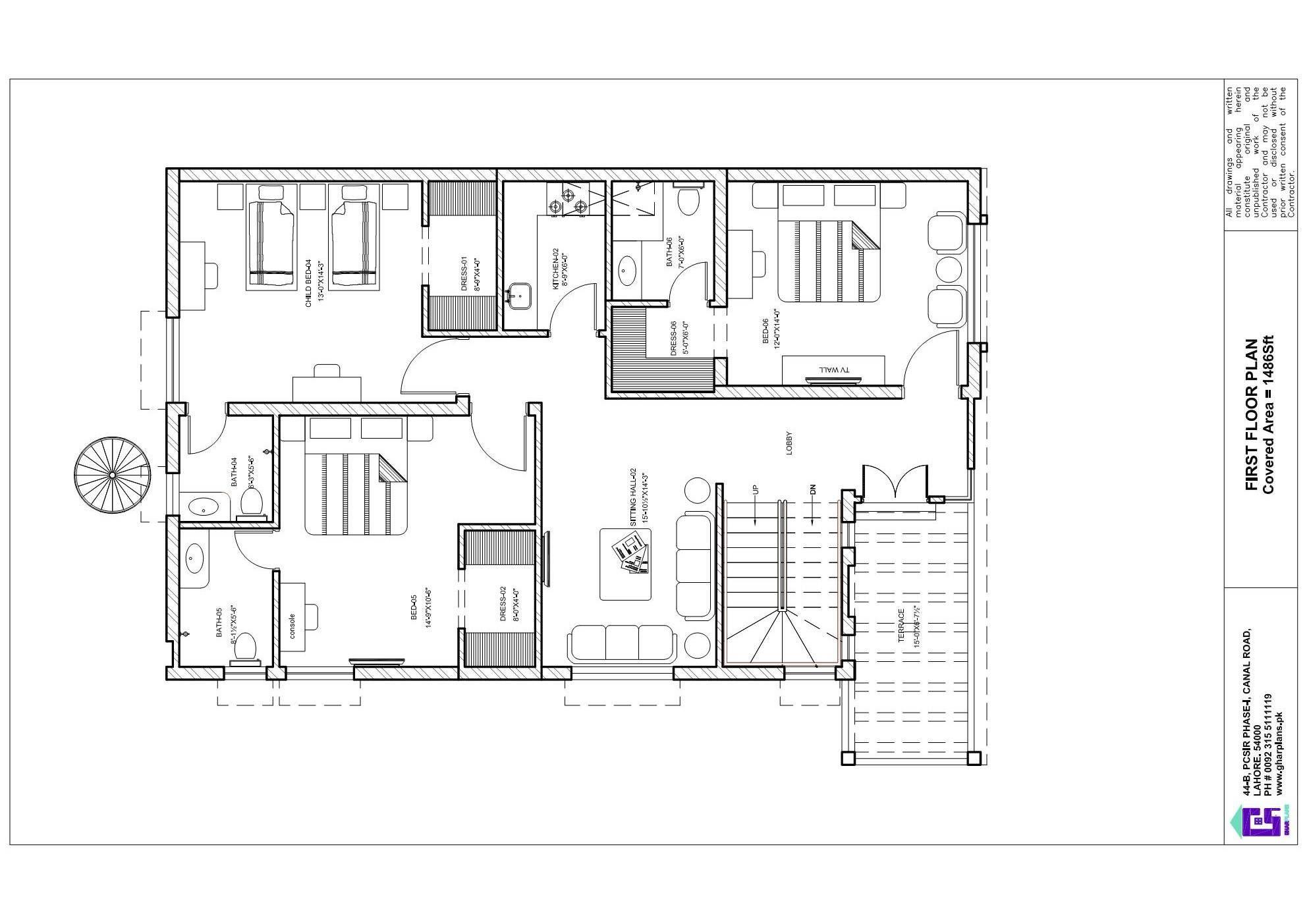 10 Marla First Floor Plan Basement House Plans House Plans Beautiful House Plans