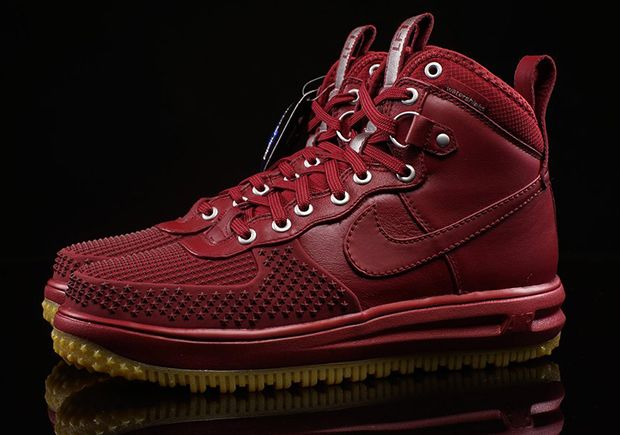 Nike Lunar Force 1 Duckboot Team Red 805899 600 | Nike boots