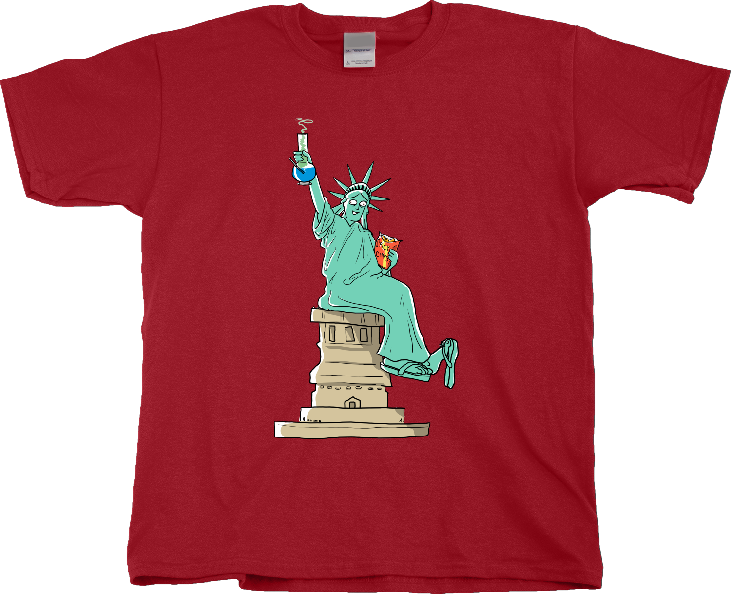 funny arbor day shirts | ... Of-Liberty-Bong-T-shirt-Youth-Unisex ...
