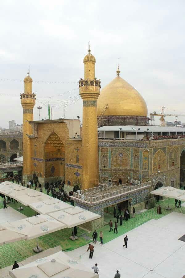 مرقد امير المؤمنين الامام علي بن ابي طالب عليه السلام في النجف الاشرف Imam Ali Taj Mahal Islam