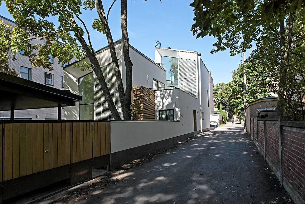 Duudsoneiden talo sijaitsee Helsingin Ullanlinnassa. Kuva: Pete Aarre-Ahtio
