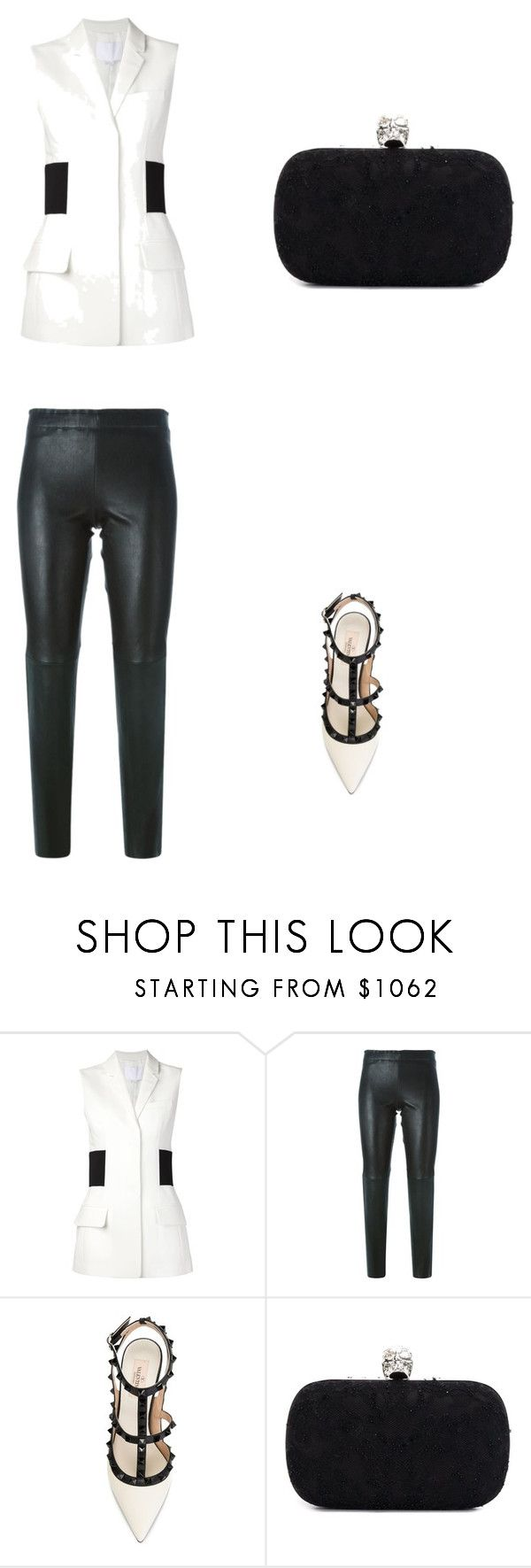 """""""<3"""" by martina-vacca ❤ liked on Polyvore featuring moda, Alexander Wang, STOULS, Valentino, Alexander McQueen, women's clothing, women's fashion, women, female y woman"""