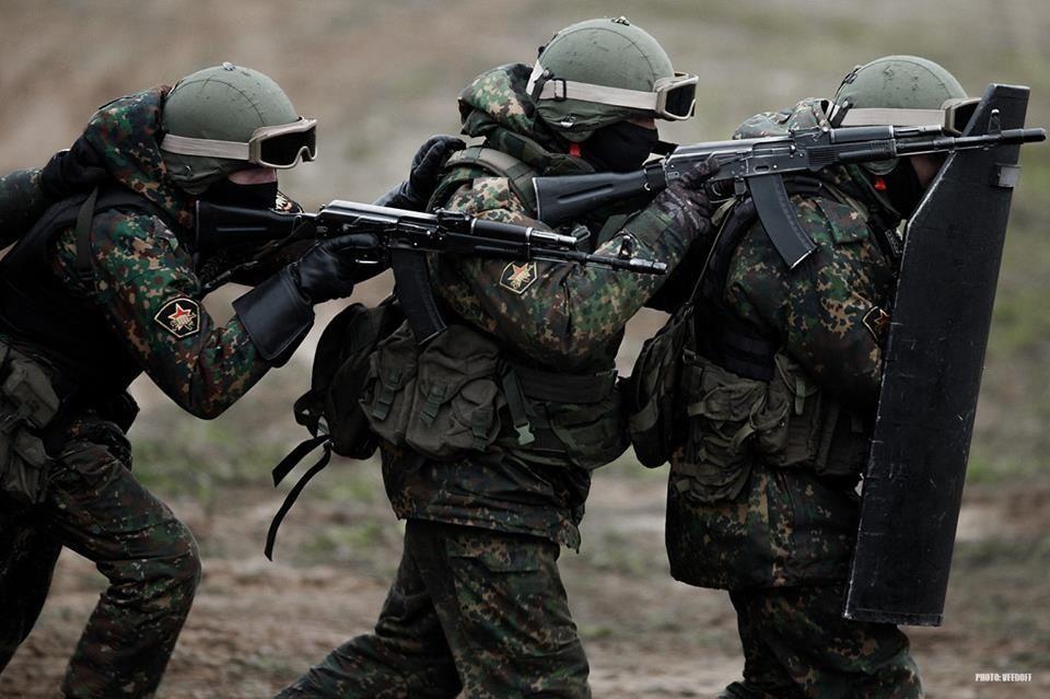 Spetsnaz urban assault breach team.