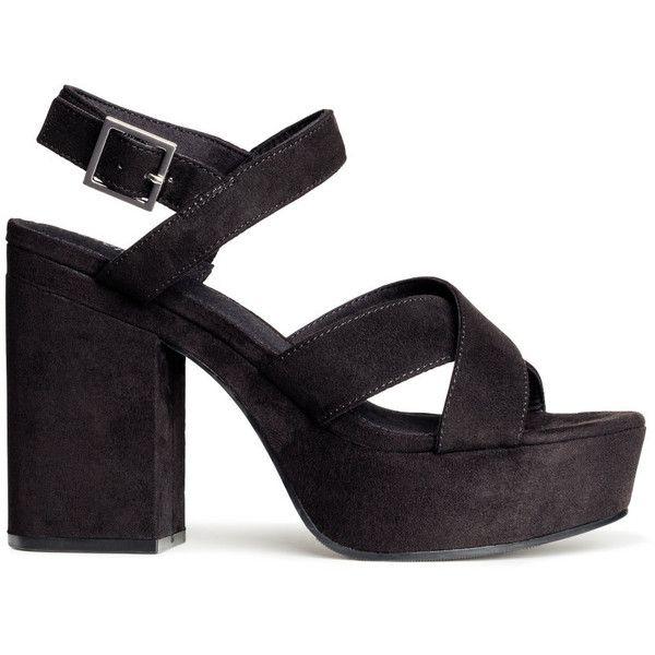 H\u0026M Platform sandals | Platform sandals
