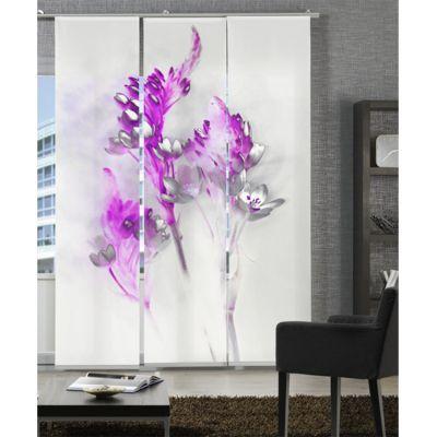 panneau japonais magie florale rideaux panneaux. Black Bedroom Furniture Sets. Home Design Ideas