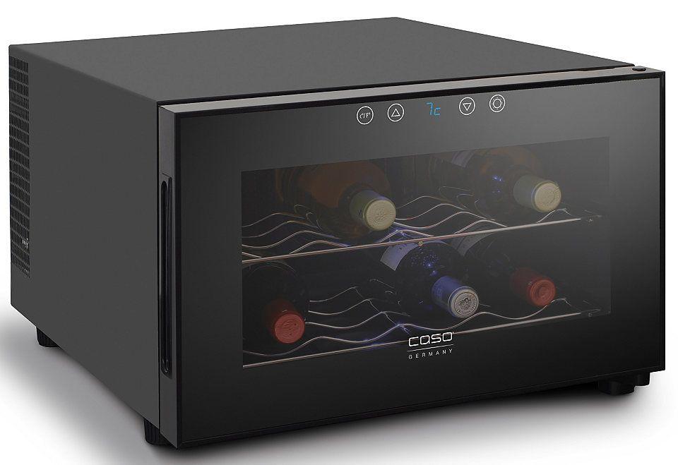CASO Design Weinkühlschrank »WineCase 8«, Höhe 41 cm, für 8 ...