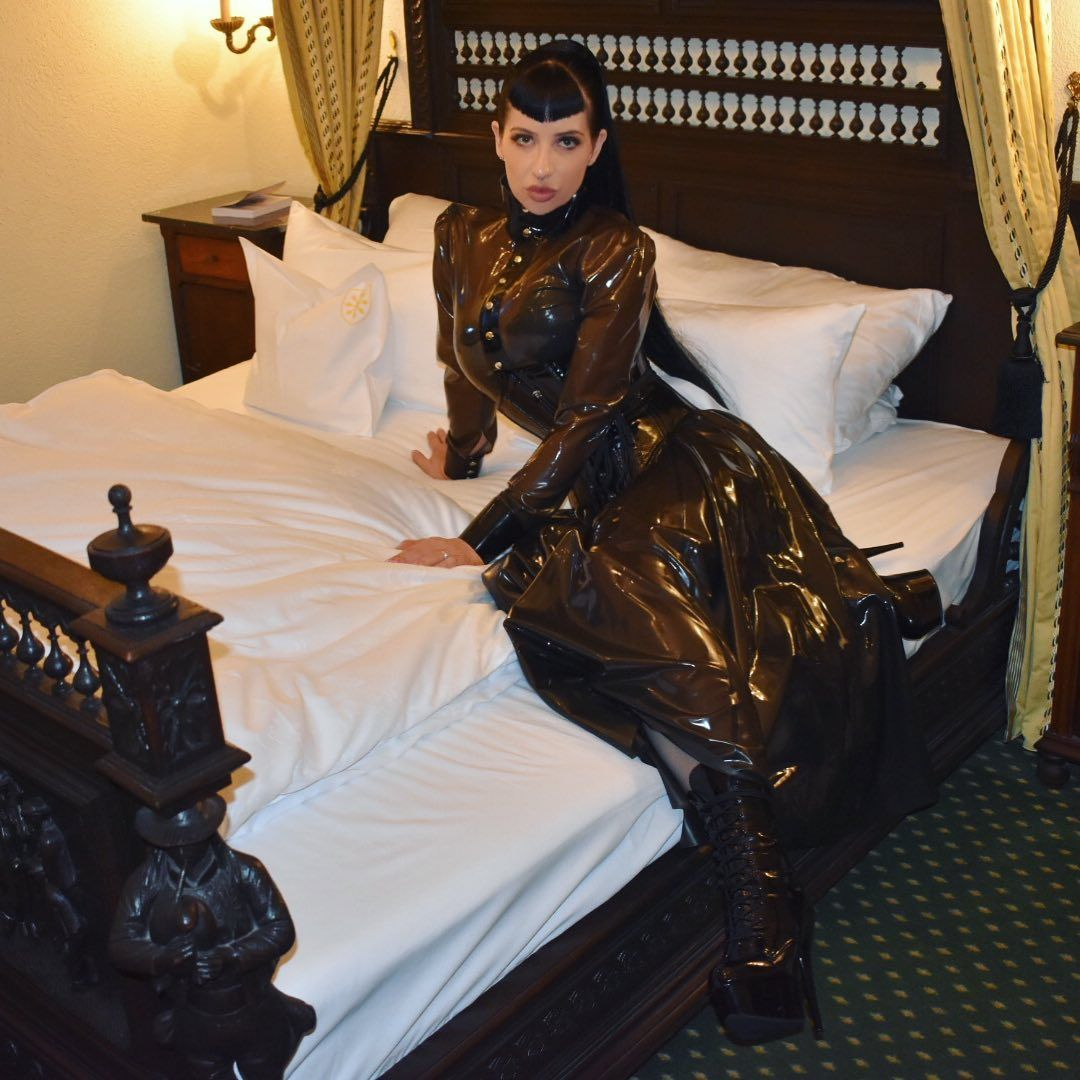 Lounging About The Castle In Marquislatexfashion Lounge Castle Victorian Dress