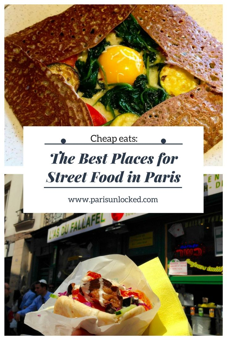 The #Paris #streetfood scene has exploded in the past few years-- and the number of places serving delicious, cheap eats has multiplied. Read on for some of my favorite places for street food in the capital, from delicious #falafels to #crepes and #market treats!