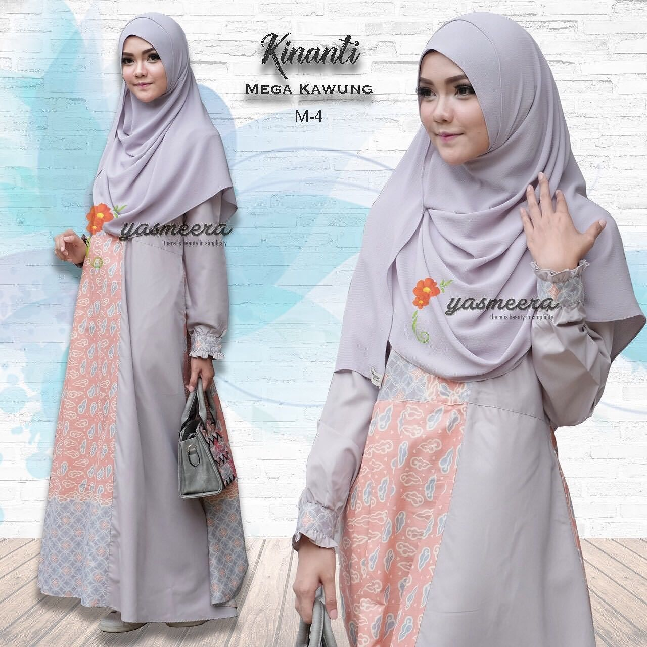 Gamis Yasmeera Kinanti Dress Mega Kawung M4 Baju Muslim Wanita Baju Muslimah Untukmu Yg Cantik Syari Dan Trendy Mater Baju Muslim Valentino Model Pakaian