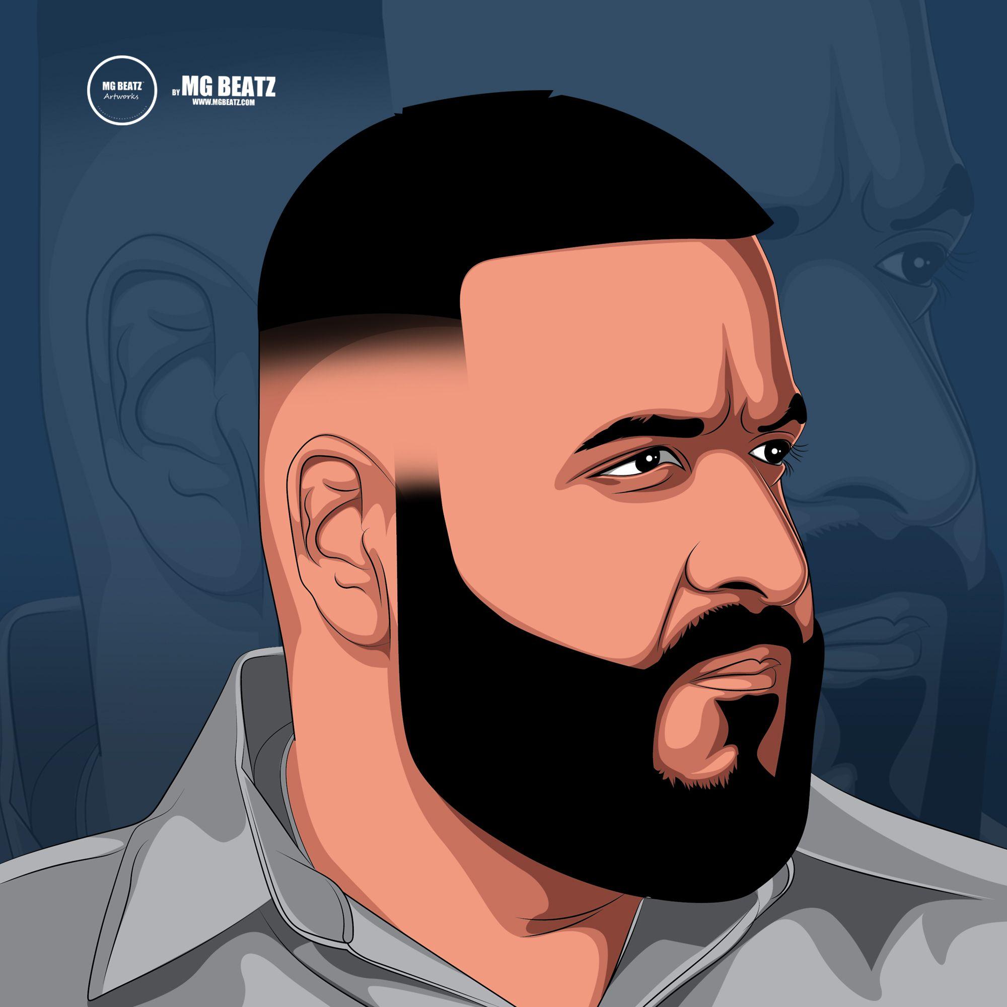 Dj Khaled Cartoon Art Cartoon African