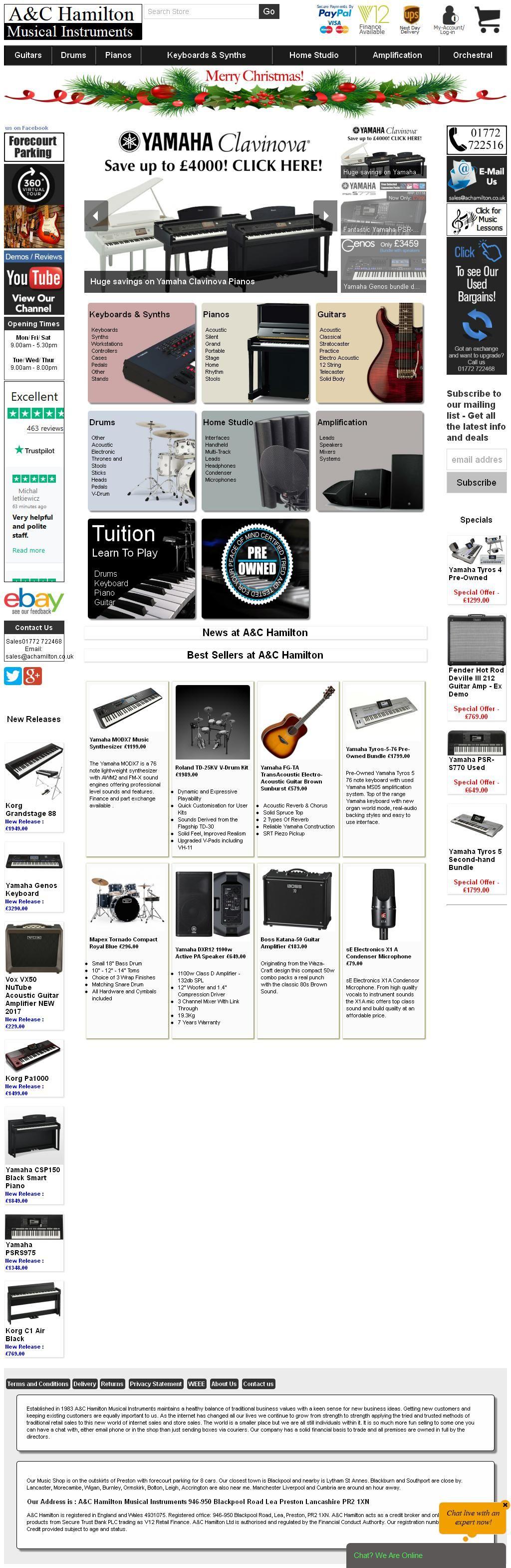 A & C Hamilton Musical Instruments & Sheet Music 946950