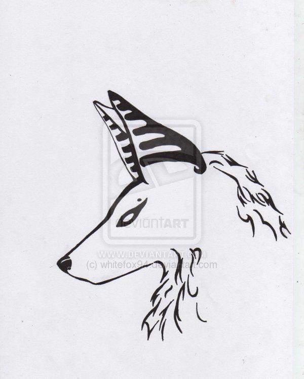 Jackal Tattoo By Whitefox94 On Deviantart
