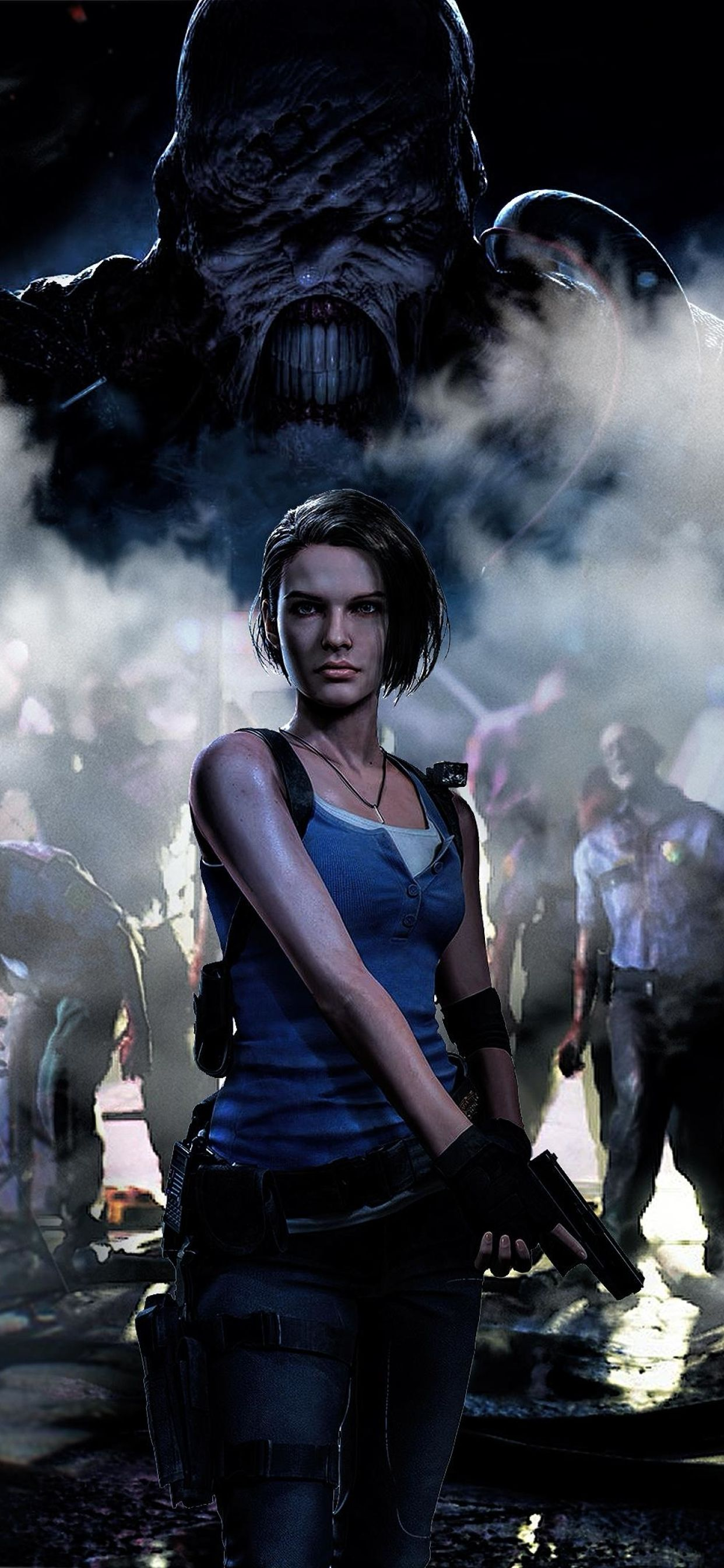 resident evil 3 wallpaper iphone