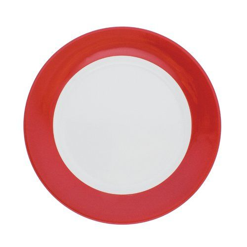 Pronto 26cm Porcelain Dinner Plate Kahla Colour Red Melamine