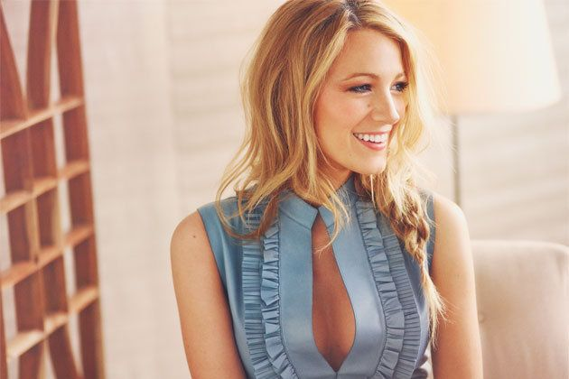 """""""I love fashion. It's very empowering,"""" Blake Lively says."""