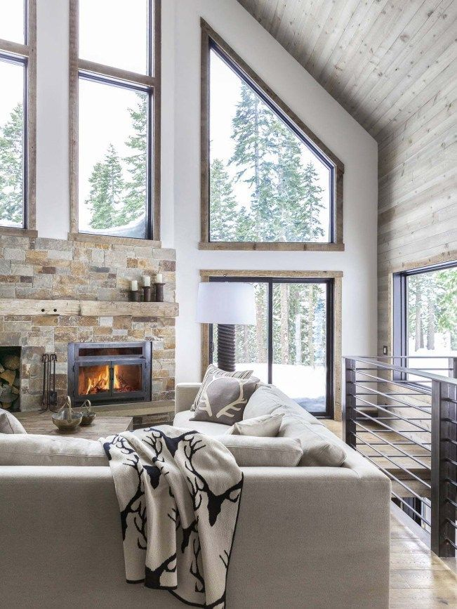 Photo of Dated A-frame mountain cabin in Lake Tahoe gets fabulous transformation