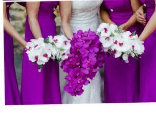 9fbbace9737 magenta orchid wedding