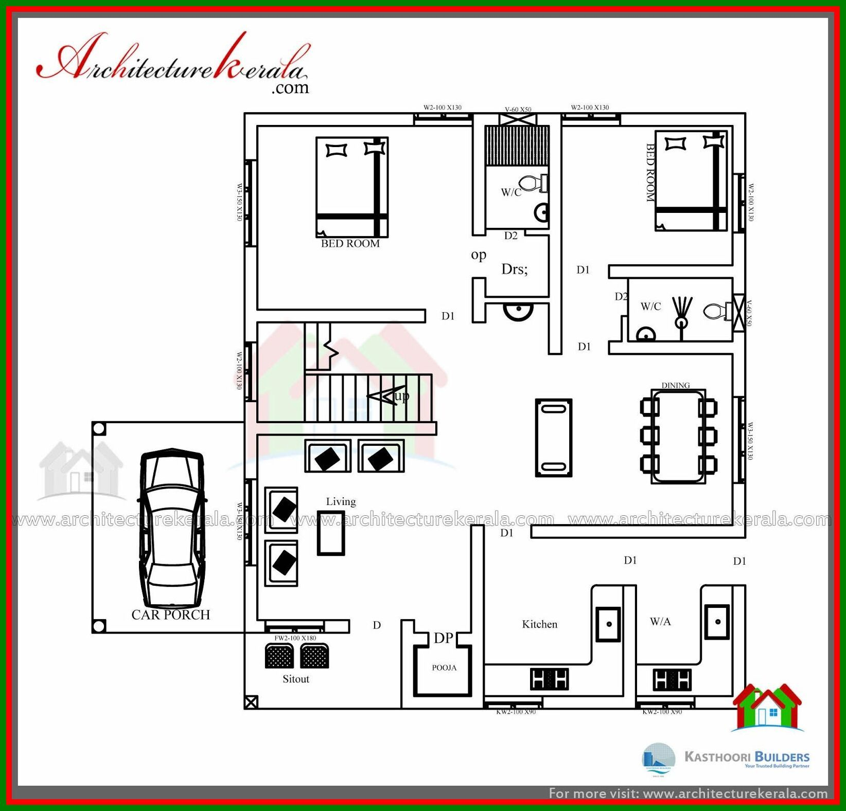 56 Reference Of Ground Floor Bedroom House Low Cost House Plans Bedroom Floor Plans Bedroom House Plans