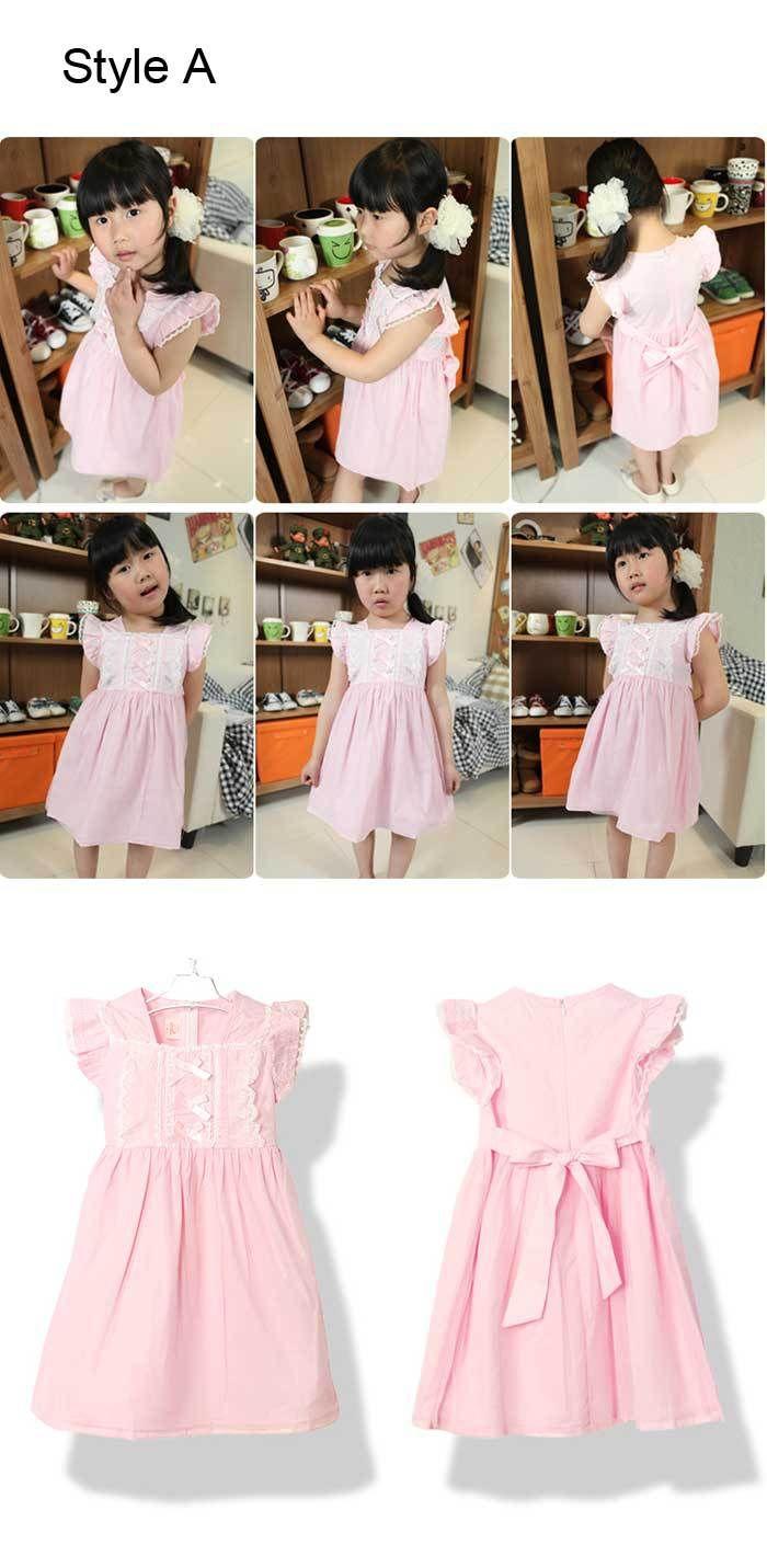 Promotion new kids dress girls sundress girl flower dress tutu dress