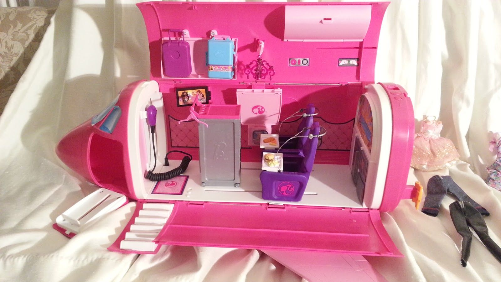 Barbie Glam Vacation Jet Airplane Okc 30 Barbie Toys Garage Sale Tips