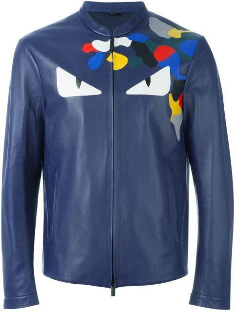FENDI Bag Bugs Jacket.  fendi  cloth  jacket Vestes De Créateur Pour Hommes 65b8a564b08