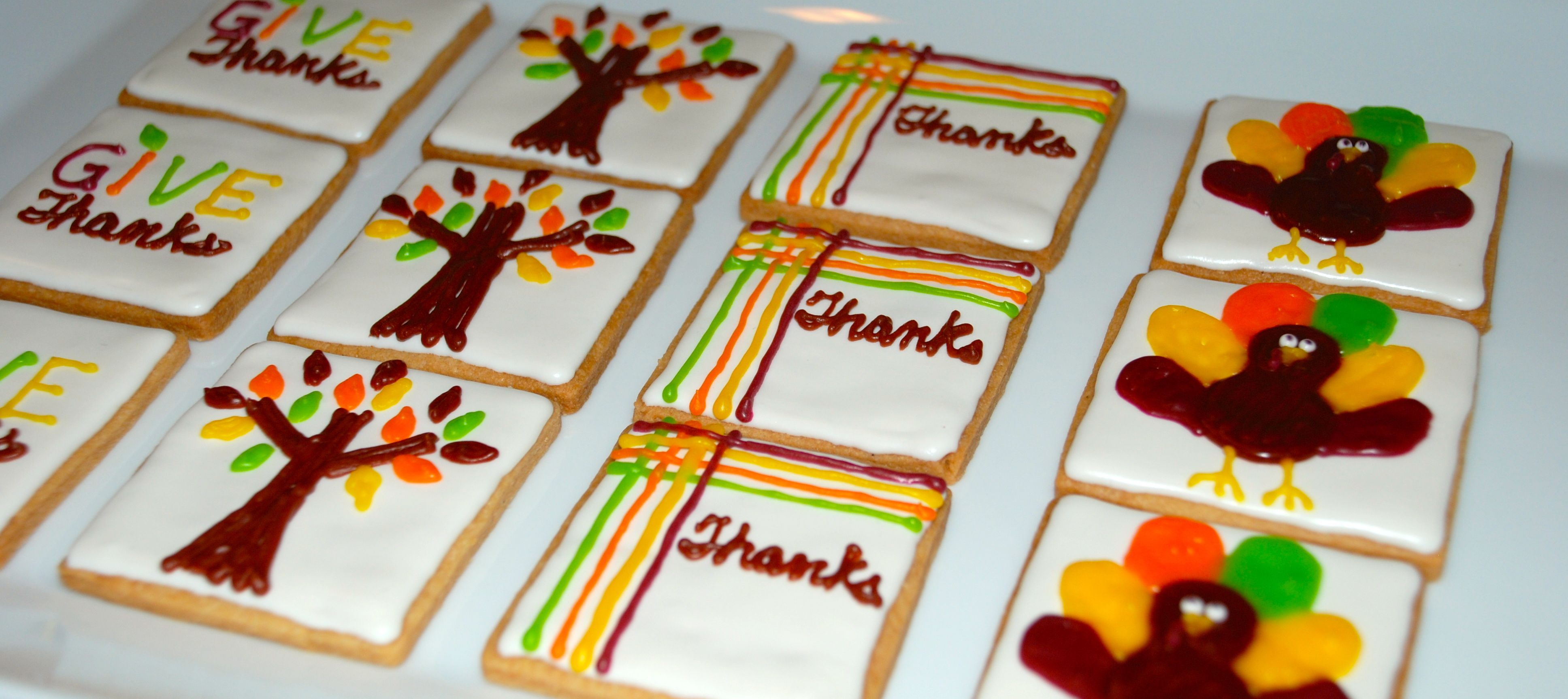Cute cookies for Thanksgiving