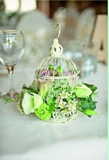 Centros de mesa para un casamiento vintage