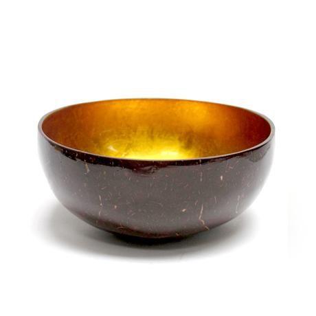 Coco Bowl Gold Natural