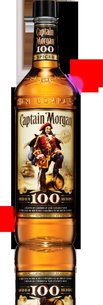 Captain Morgan 100 Proof Spiced Rum Rum Captain Morgan Spiced Rum
