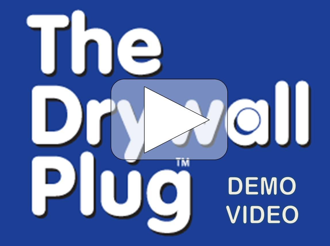 The Drywall Plug Drywall Repair How To Patch Drywall Plugs