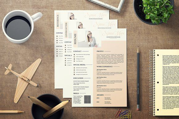 Professional Resume CV V-01 by @Graphicsauthor Resume CV