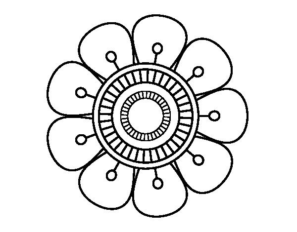 Mandala Facil De Dibujar