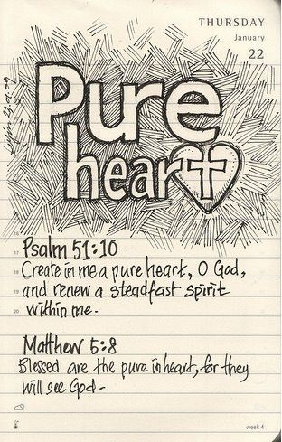 pure heart in him bible bible verses bible quotes