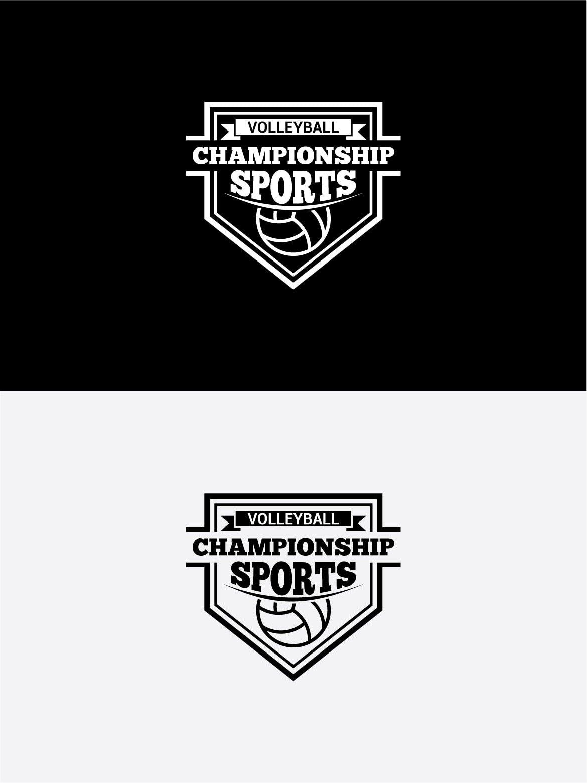 Volleyball Logo2 Volleyball Sport Volleyball Video Template