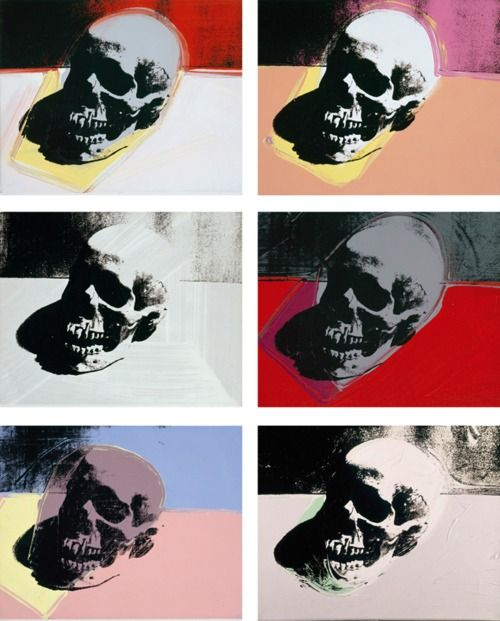 Skulls by Andy Warhol (1976)