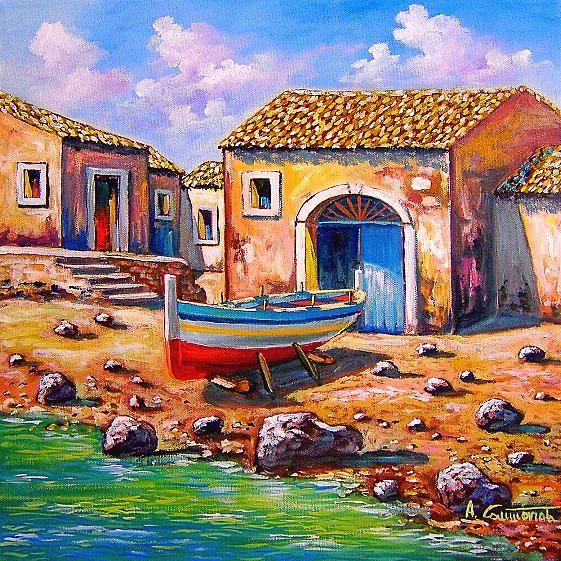 paesaggi, quadri, olio su tela, vendita dipinti, pittori italiani ...
