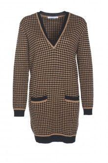 SIS by Spijkers en Spijkers BUBBLE KNIT DRESS (BLACK/BROWN)  229EURO  http://spijkersenspijkers.nl/shop/all-products/bubble-knit-dress-black-brown.html #knitdress #bubbleknit #fashion #fashion2013 #fashion2014 #style #mode #inspiration #christmasgift #christmas #gift