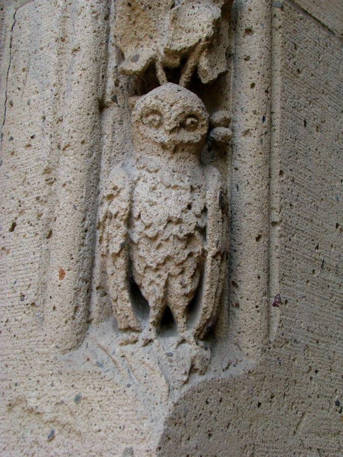 Eule - Owl - Dortmund, St. Franziskus