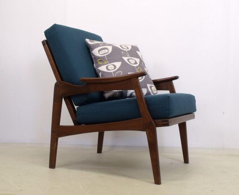Centa Armchair Chair Vintage Mid Century 50s 60s 70s