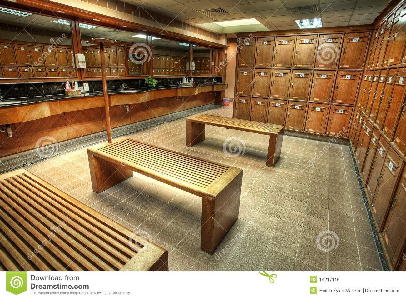 Country Club Locker Rooms Interior Shot Of A Locker Or